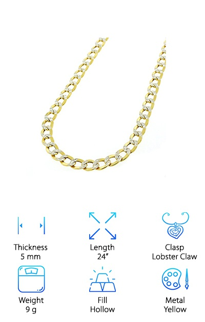In Style 10k Gold Chain
