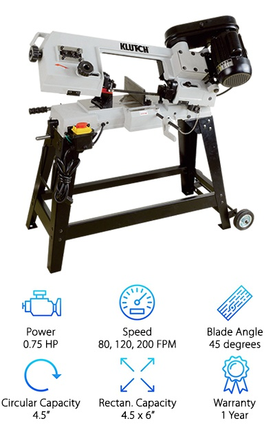 Klutch 155790K Band Saw