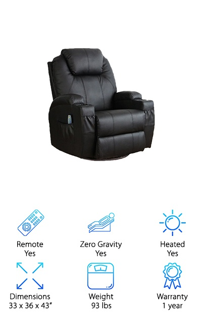 Esright Heated Massage Chair