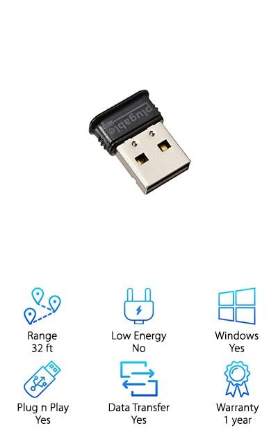 Plugable USB Bluetooth 4.0