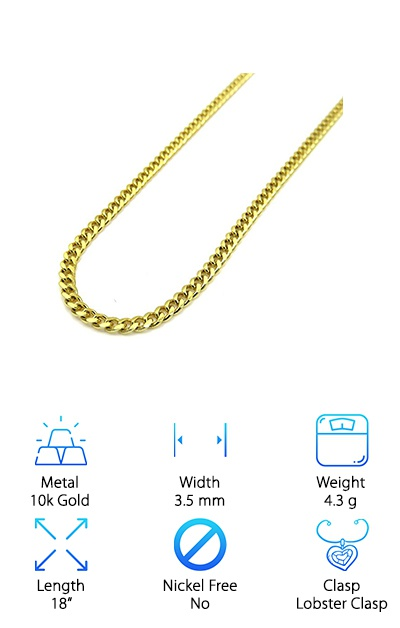 Jawa Fashion 3.5mm Cuban Link