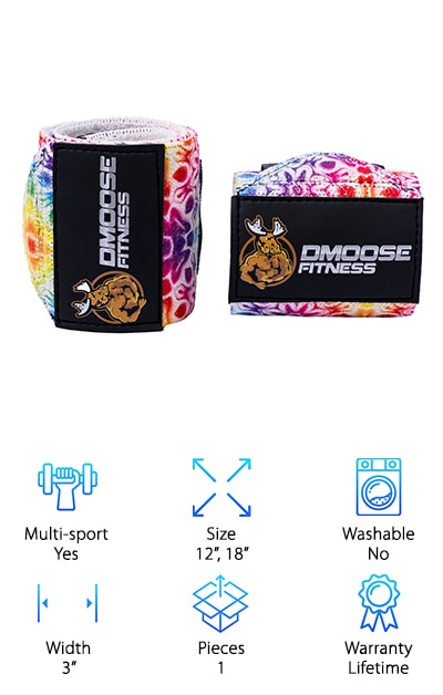 DMoose Fitness Wraps
