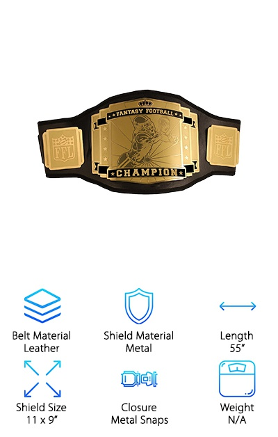 FFL Fantasy Football Belt