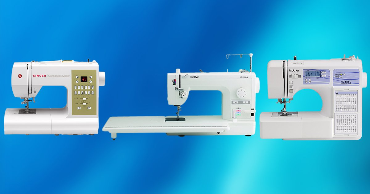 10 Best Sewing Machines for Quilting 2020 [Buying Guide ...