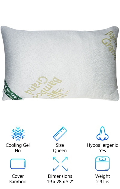 Bamboo Grand Foam Pillow