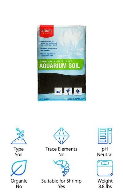 Altum Aquatic Aquarium Soil