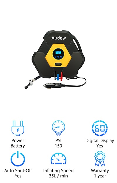 AUDEW Portable Pump