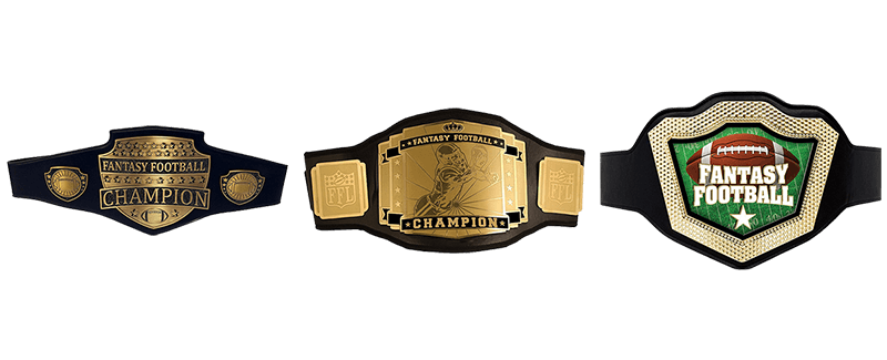 Fantasy Football Championship Belts