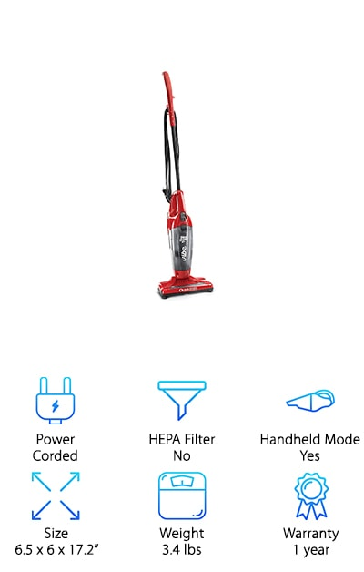 Dirt Devil Vibe 3-in-1 Vacuum