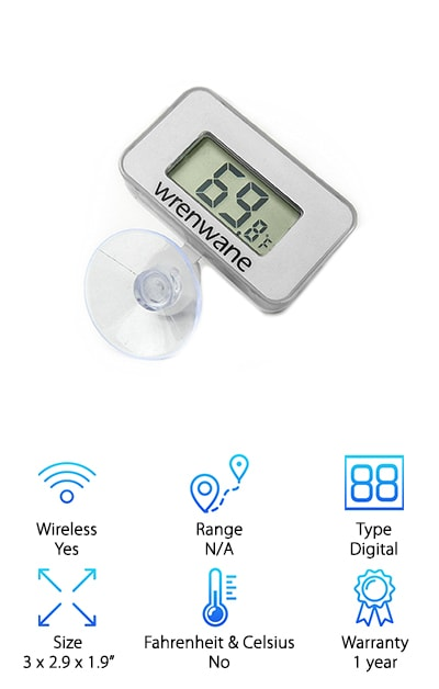 Wrenwane Outdoor Thermometer