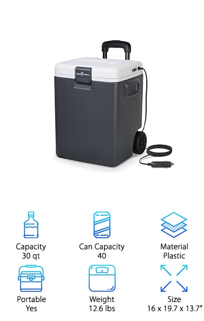 Rockpals Electric Cooler