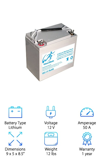 Lithium Battery for Trolling Motor