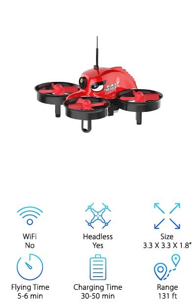 REDPAWZ Micro Racing Drone