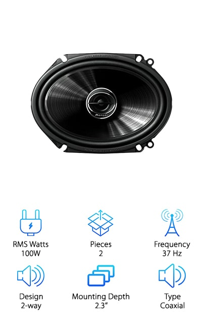 Pioneer TS-G6845R Speakers