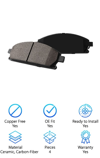Power Stop Z23 Brake Pads
