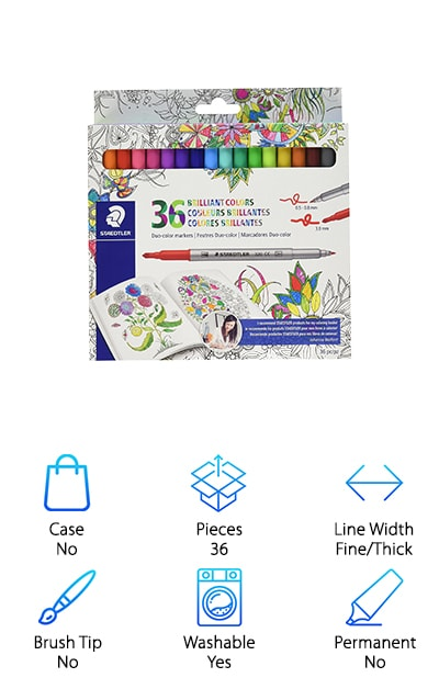 Staedtler Duo Color Markers