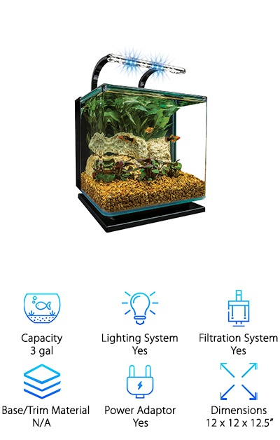 Marineland Contour Aquarium Kit