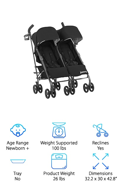 Joovy Twin Ultralight Umbrella Stroller