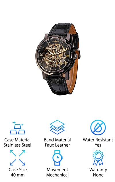 Mudder Mechanical Watch