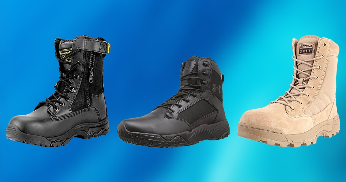d869e2903a1 10 Best Tactical Boots 2019 [Buying Guide] – Geekwrapped