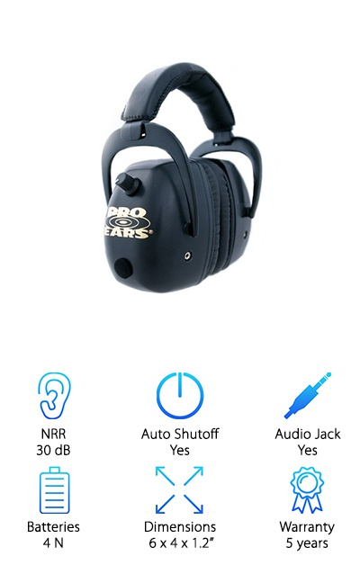 Pro Ears Electronic Ear Muffs