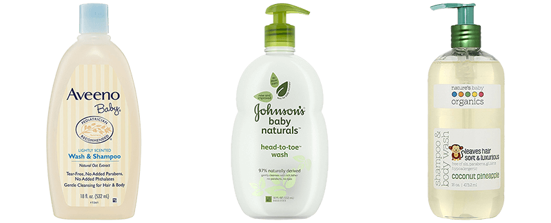 Best Natural Baby Wash