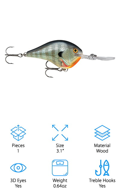 Rapala Dives Fishing Lures