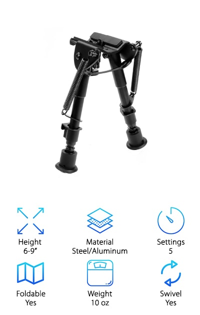 AVAWO Hunting Rifle Bipod