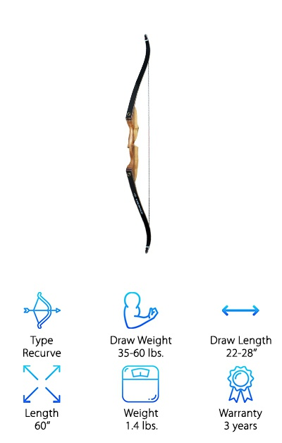 SAS Courage Recurve Bow
