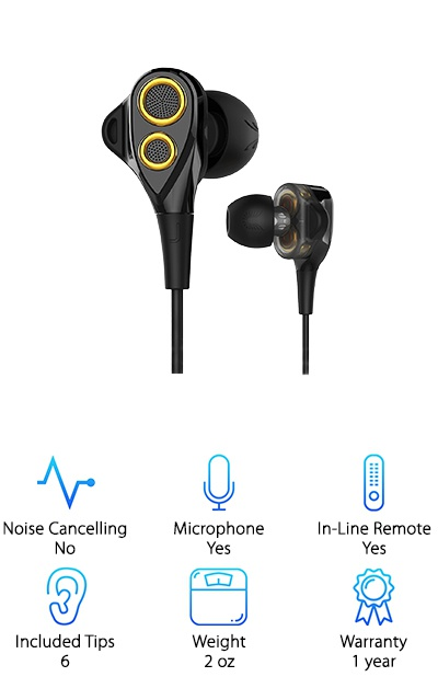 UiiSii T8 Headphones