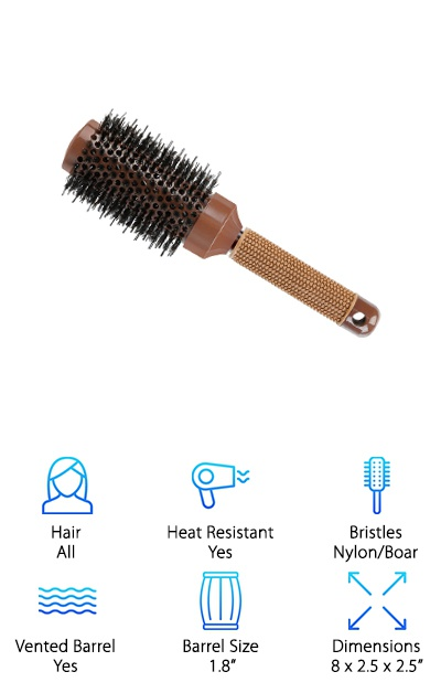 YaFex Boar Bristle Brush