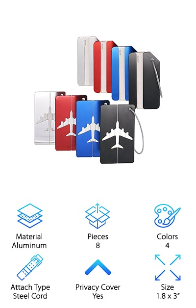 Aootech Luggage Tags