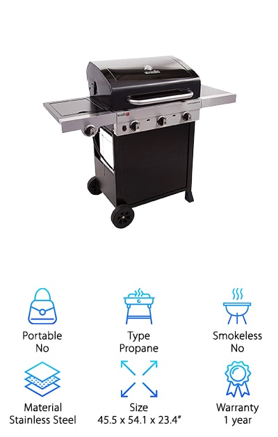 Char-Broil Infrared 450 Gas Grill