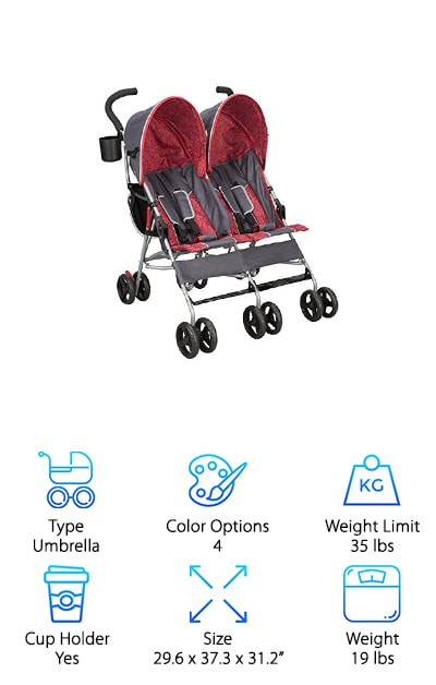 Delta Children City Street Stroller