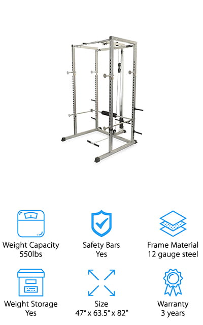 Valor Fitness Power Rack