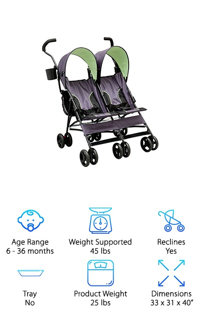 Best Double Umbrella Strollers