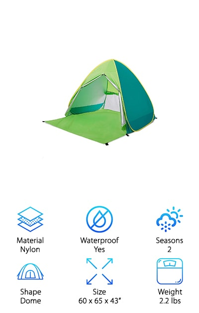 RIJER Pop Up Tent
