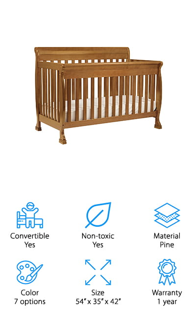 10 Best Modern Baby Cribs 2019 Buying Guide Geekwrapped