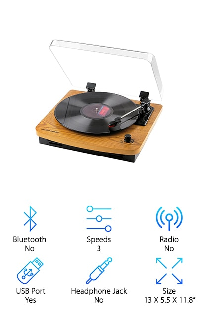 Musitrend LP Turntable