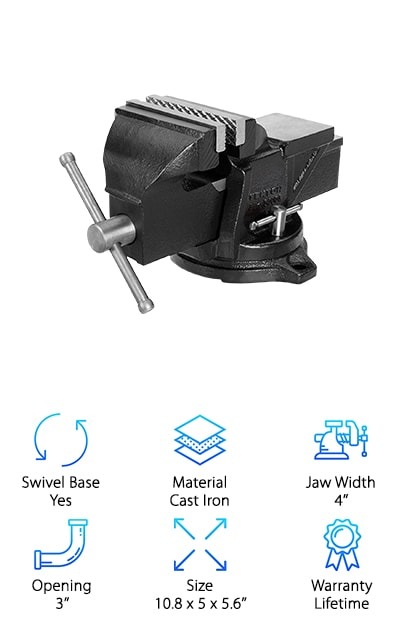 Tekton Swivel Bench Vise