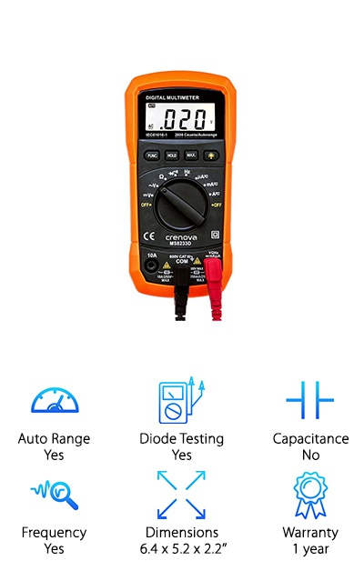 Crenova Auto-Ranging Multimeter