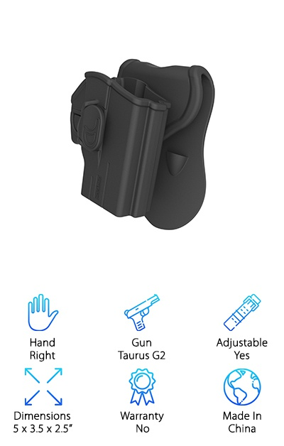 Sumtop Taurus Paddle Holster