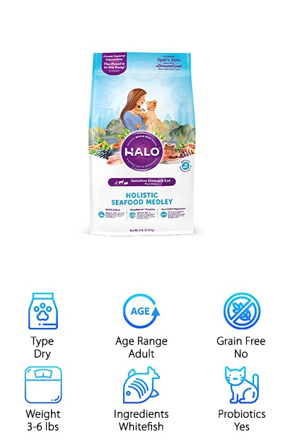 Halo Natural Cat Food