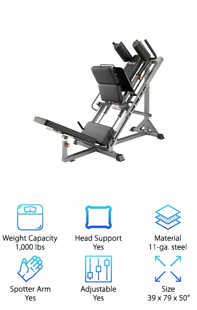 BodyCraft Leg Press/Hip Sled