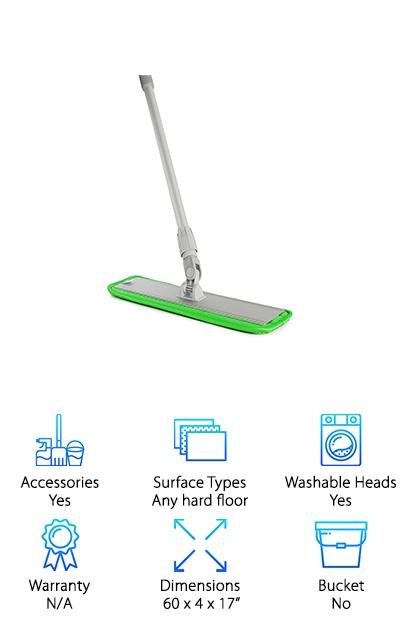 Aluminum Alloy Microfiber Mop