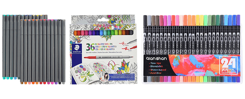 Best Markers for Coloring TOP 10 PICKS