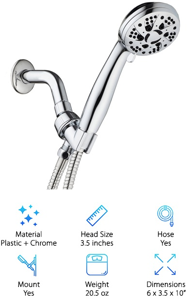 AquaDance Shower Head