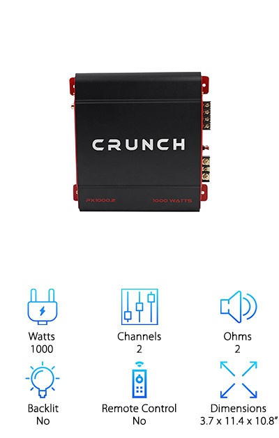 Crunch Power Amplifier