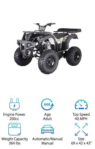RHINO 250 Adult Size ATV