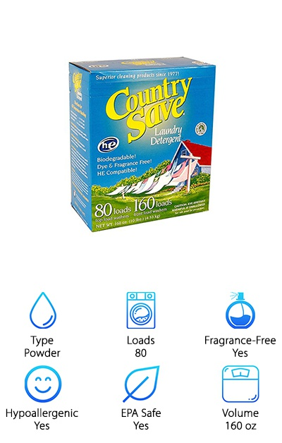 Country Save Natural Detergent
